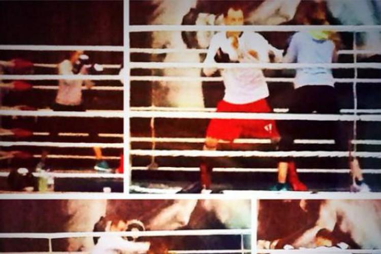 МакSим вернулась к занятиям боксом после родов