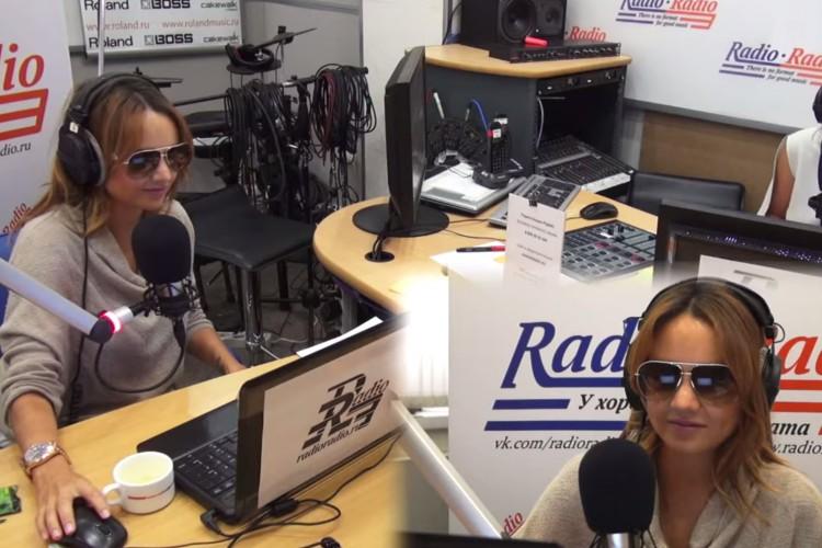 МакSим в программе HELP-час на радио Радио, 10.09.14