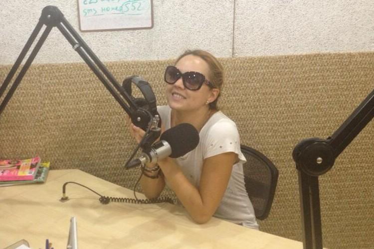 МакSим в эфире Пионер FM