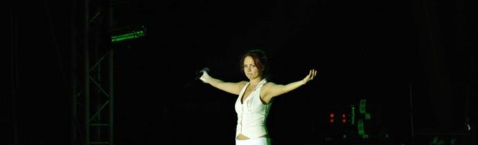 Выступление МакSим в городе Тараз 001