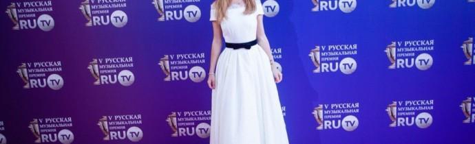 МакSим на премии Ru.Tv 002